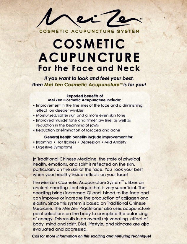 cosmetic acupuncture
